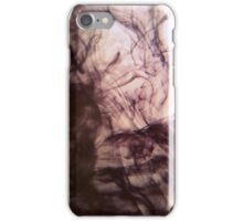 ink in water #14 iPhone Case/Skin