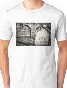 Tomb stones  Unisex T-Shirt