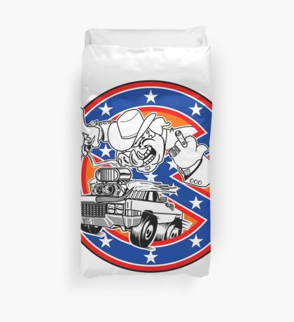 Ghostbusters of Hazzard - Franchise Logo Duvet Cover