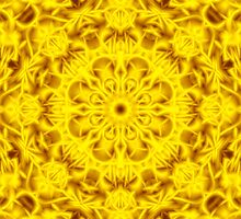 """Spirit of India: Fleur-Sun"" in golden yellow 2 by FireFairy"