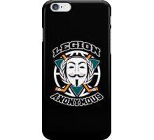 Legion Anonymous  iPhone Case/Skin