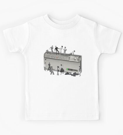 Portable Music from the 50's Kids Tee