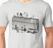 Portable Music from the 50's Unisex T-Shirt