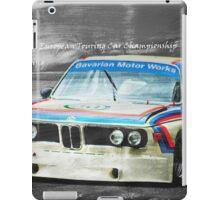 BMW 3.0 CSL Batmobile iPad Case/Skin