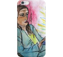 bored on pc  iPhone Case/Skin