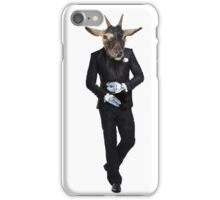 GOAT MAN IN TUXEDO / LICENCE TO KILL iPhone Case/Skin