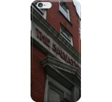 salvation in dublin iPhone Case/Skin