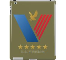 U.S. VETERAN....thank you for your service! iPad Case/Skin
