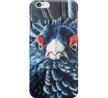 Scottish Capercaillie Original Acrylic Painting by Jane Green iPhone Case/Skin