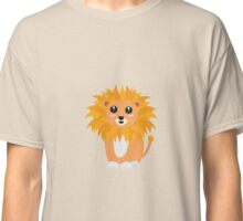 Cute kawaii lion Classic T-Shirt