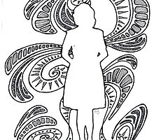 woman silhouette by hmarie