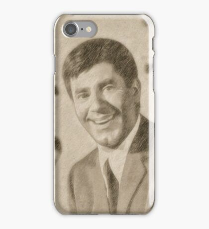 Jerry Lewis, Actor and Comedian iPhone Case/Skin