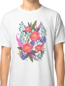 Night Blossom art print T-shirt Classique