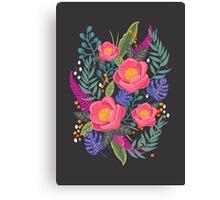 Night Blossom art print Canvas Print