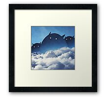 Beyond the Clouds Framed Print