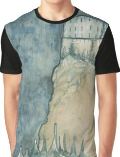 Monastery Above the Seas Graphic T-Shirt