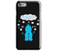 My Own Personal Flurry iPhone Case/Skin