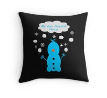 My Own Personal Flurry Throw Pillow