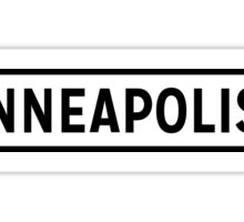 Minneapolis Lite Sticker