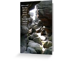 Friends are a treasure to keep. Greeting Card