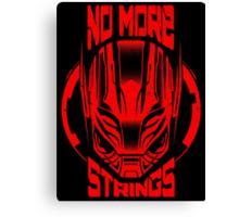 No More Strings (Vintage Effect) Canvas Print