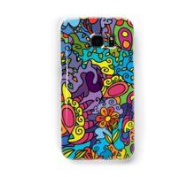 Psychedelic jungle pattern Samsung Galaxy Case/Skin
