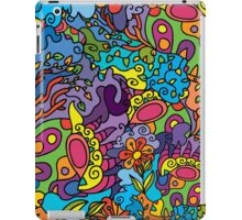 Psychedelic jungle pattern iPad Case/Skin