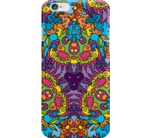 Psychedelic jungle kaleidoscope ornament 30 iPhone Case/Skin