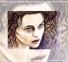 Helena Bonham-Carter miniature  HBC3 by wu-wei