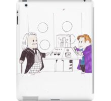 whodipose in space in time iPad Case/Skin