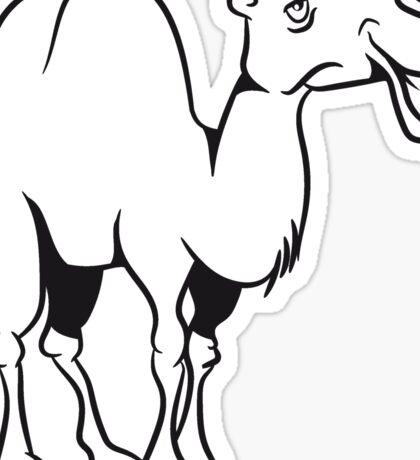 Kamel doof lieb  Sticker