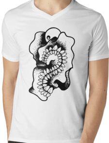 Gnarled Skull - A95 Mens V-Neck T-Shirt