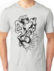 Gnarled Skull - A92 Unisex T-Shirt
