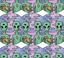 Alien by NickSchok