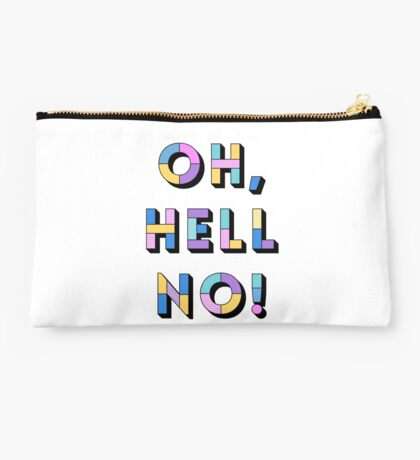 Hell no Studio Pouch