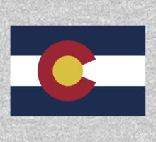 US State- Colorado Flag by cadellin