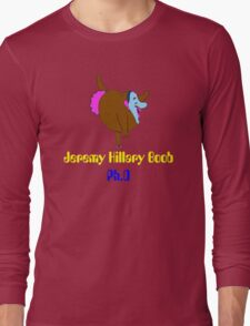 jeremy hillary boob Long Sleeve T-Shirt