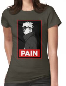 Pain logo Womens Fitted T-Shirt