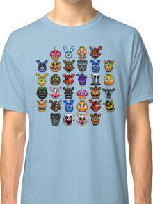 NEW - FNAF Multiple Animatronics - (Dec 2016) - Pixel art Classic T-Shirt