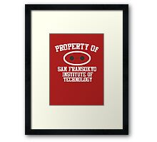 Property Of San Fransokyo Institute of Technology Framed Print