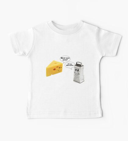 Cheese Grater  Baby Tee