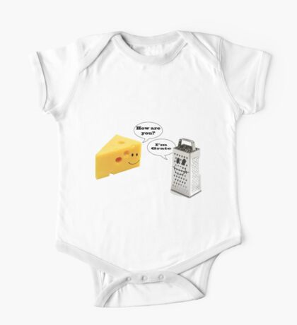 Cheese Grater  One Piece - Short Sleeve