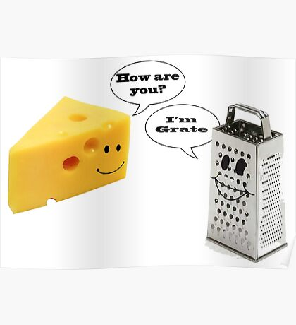 Cheese Grater  Poster