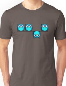 A whole different perspective for the owl Unisex T-Shirt