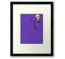 John Watson - Pocket Buddy Framed Print