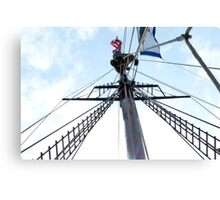 Mast Climber Canvas Print