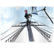 Mast Climber Poster