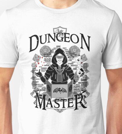 Dungeon Master - Black Unisex T-Shirt