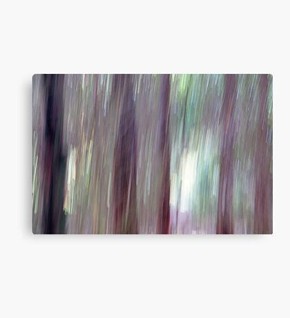 Trees out of Focus Canvas Print