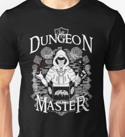 Dungeon Master - White Unisex T-Shirt